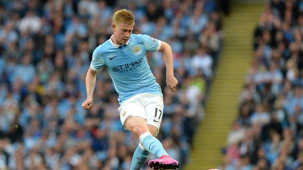Kevin de Bruyne does not think there are problems at Manchester City between Vincent Kompany and Manuel Pellegrini