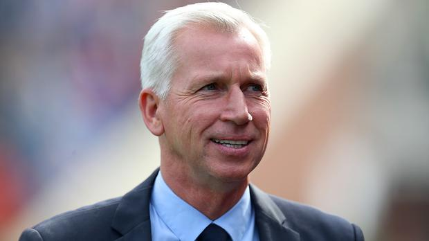 Alan Pardew's Crystal Palace travel to Leicester on Saturday