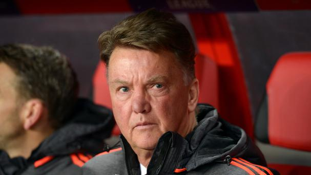 Louis van Gaal believes Manchester City are favourites for Sunday's derby against United at Old Trafford