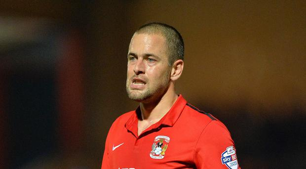 Joe Cole made his Coventry debut at Rochdale on Tuesday after signing on loan from Aston Villa.