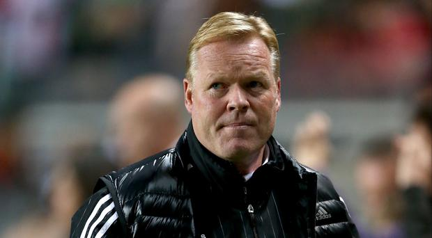 Ronald Koeman, pictured, says Jurgen Klopp may be surprised by the intensity of English football