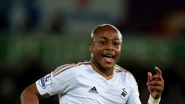Andre Ayew was the match-winner for Swansea