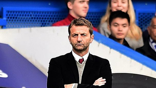 Tim Sherwood only replaced Paul Lambert as Aston Villa manager in February.