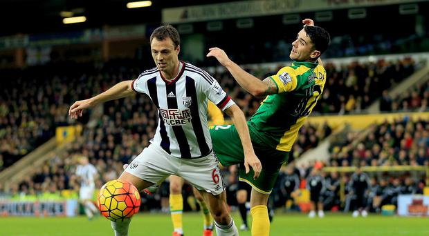 Jonny Evans (left) and his West Brom team-mates have kept six Premier League clean sheets this season.