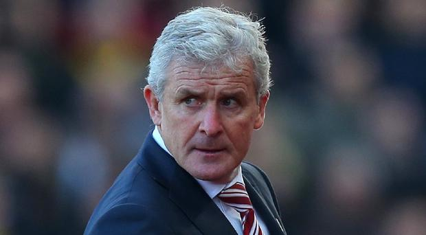 Mark Hughes saw his side put in a disappointing performance at home against Watford