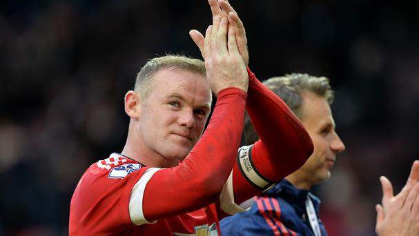 Wayne Rooney failed to add to his 11 Manchester derby goals on Sunday