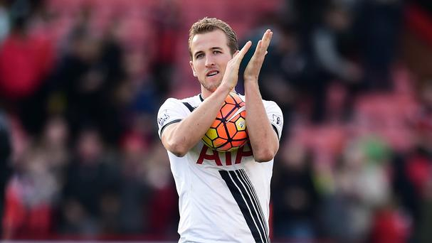 Tottenham striker Harry Kane helped himself to the match-ball following his hat-trick at Bournemouth