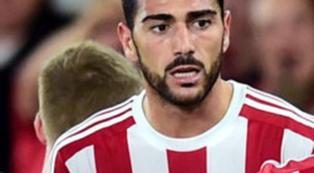 On target: Graziano Pelle was on the scoresheet for Saints