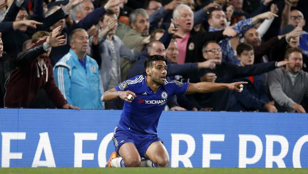 Chelsea's Radamel Falcao (pictured) will not be joining Zenit St Petersburg, according to boss Andre Villas-Boas