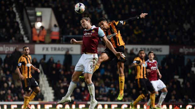 Andy Carroll's ability in the air is second to none in England, according to his manager