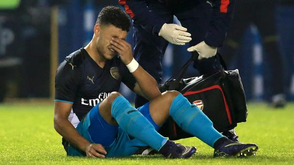 Alex Oxlade-Chamberlain is set for a spell on the sidelines with injury