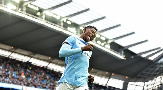 Kelechi Iheanacho has shown signs of potential at Manchester City