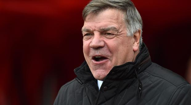 Sunderland manager Sam Allardyce wants his players to play with a smile on their faces