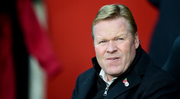 Southampton manager Ronald Koeman is keen to temper expectations