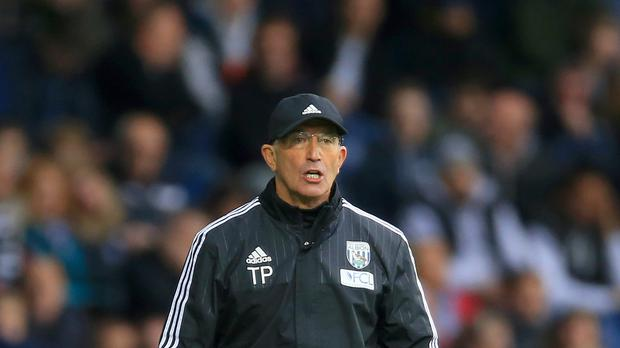 West Brom head coach Tony Pulis was upset with referee Anthony Taylor after Saturday's 3-2 defeat to Leicester.