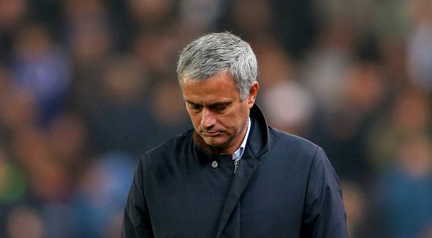 Jose Mourinho is enduring a nightmare season