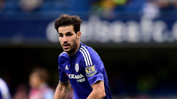 Chelsea's Cesc Fabregas says he is behind boss Jose Mourinho