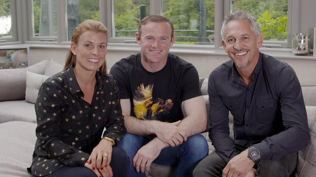 Manchester United and England captain Wayne Rooney, pictured centre, was the subject of a recent BBC1 documentary.