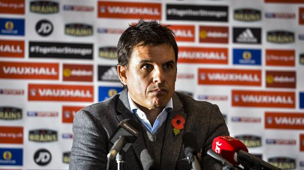 Wales manager Chris Coleman has accused Arsene Wenger of taking a