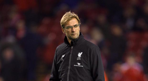 Liverpool manager Jurgen Klopp insists there is no prospect of Steven Gerrard returning to play.