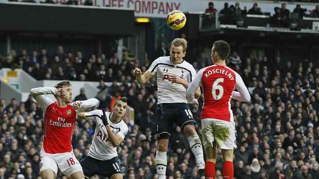 Harry Kane scored an 86th-minute winner in Tottenham's 2-1 win over Arsenal in February.