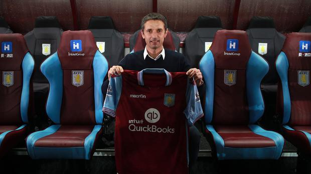 New Aston Villa manager Remi Garde has taken his first job in over a year