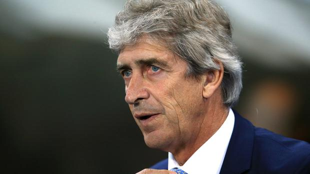 Manchester City manager Manuel Pellegrini has welcomed Remi Garde to the Premier League