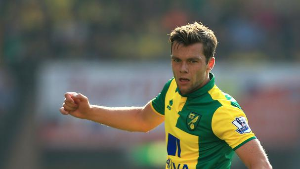 Norwich midfielder Jonny Howson scored his team's winning goal