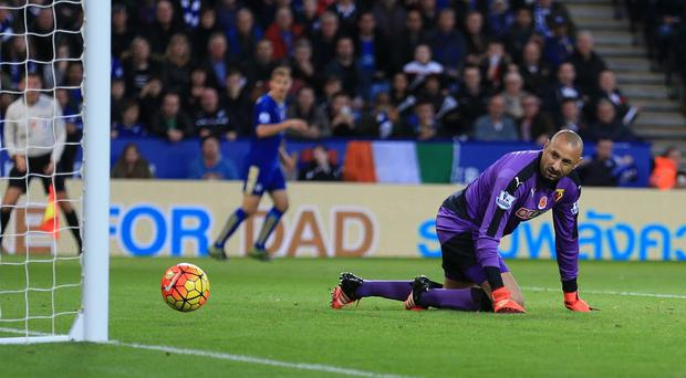 Watford goalkeeper Heurelho Gomes has been backed by his manager after mistakes at Leicester