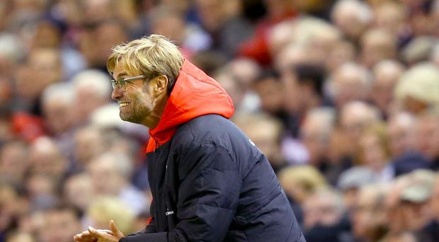 Liverpool manager Jurgen Klopp has called on his players to produce performances which will stop fans leaving early.
