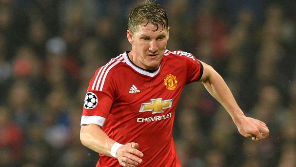 Bastian Schweinsteiger, pictured, has urged fans to be patient and have faith in Manchester United manager Louis van Gaal's methods