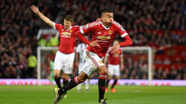 Manchester United's Jesse Lingard has been in impressive form this season for his club