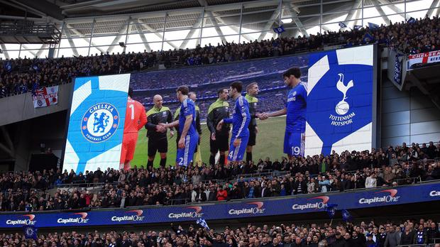 Chelsea and Tottenham could play at Wembley while their grounds are redeveloped