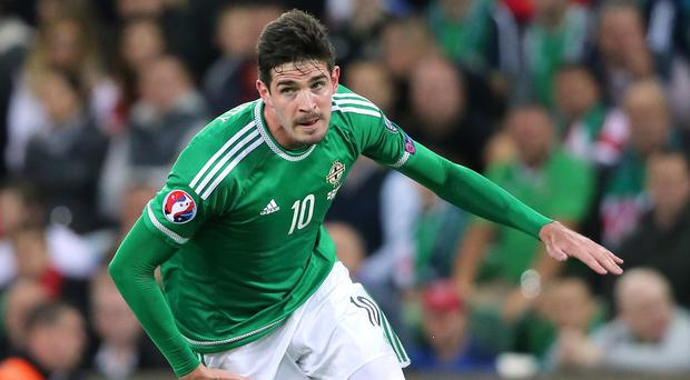 Northern Ireland's Kyle Lafferty is being forced to ponder a move from Norwich