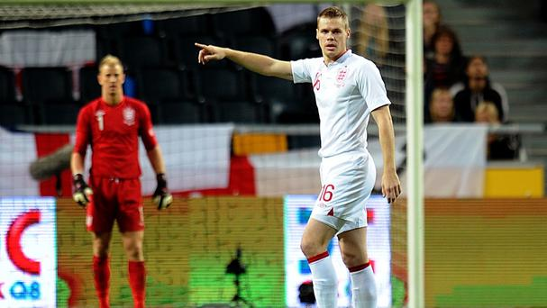 Ryan Shawcross made his only England appearance against Sweden in 2012