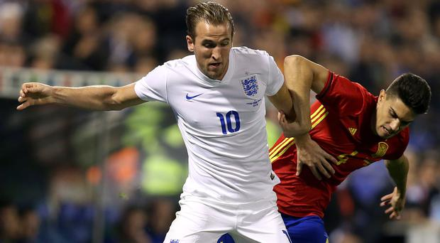 Harry Kane won his seventh England cap against Spain on Friday
