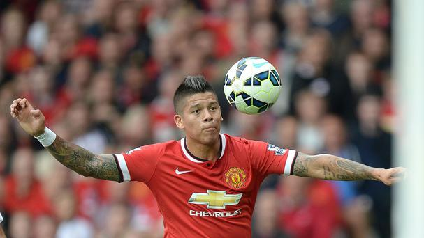Marcos Rojo has started Manchester United's last six games in all competitions.