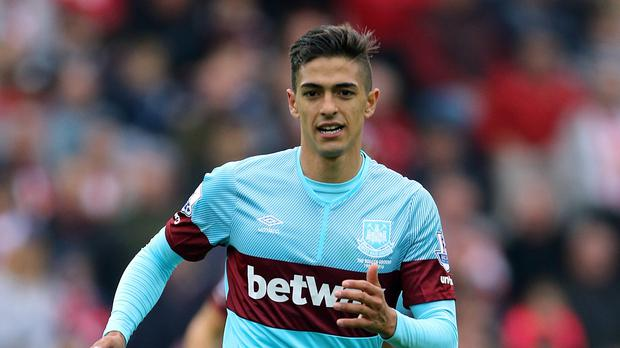 Manuel Lanzini has scored four goals for West Ham