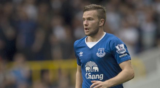 Everton boss Roberto Martinez hopes to be able to select Tom Cleverley, pictured, this weekend