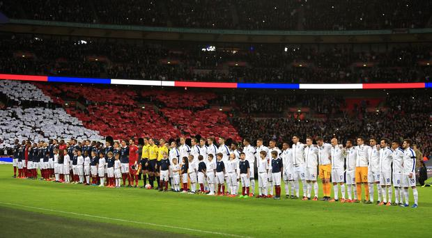The French anthem will be played ahead of every Premier League match this weekend