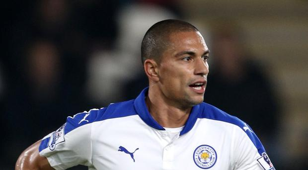 Leicester's Gokhan Inler joined the club from Napoli in the summer