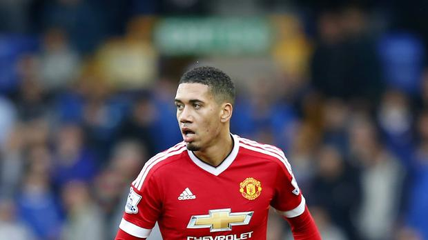 Chris Smalling is the only United player to have started every game this season