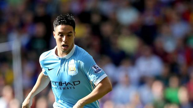 Manchester City' Samir Nasri could be out for up to five months, manager Manuel Pellegrini fears