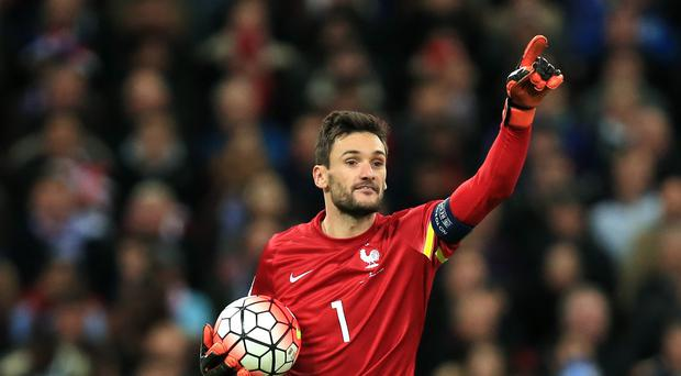 Tottenham goalkeeper Hugo Lloris captained France at Wembley