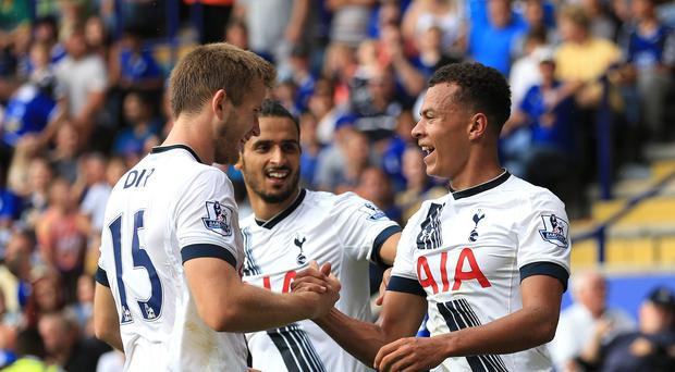Tottenham duo Dele Alli (right) and Eric Dier (left) started for England against France on Tuesday.