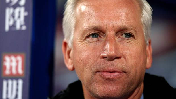 Crystal Palace manager Alan Pardew is expected about the new investors