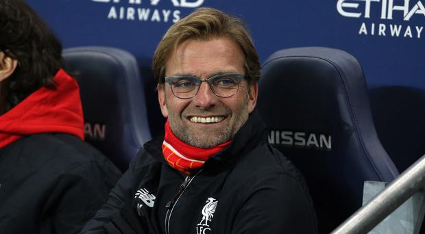 Liverpool manager Jurgen Klopp was all smiles after his side's 4-1 win at Manchester City