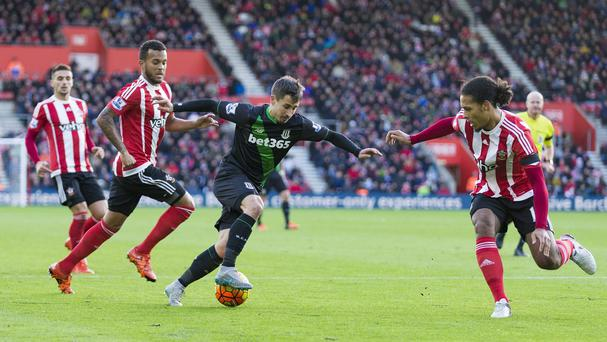 Bojan Krkic scored his third goal of the season at Southampton