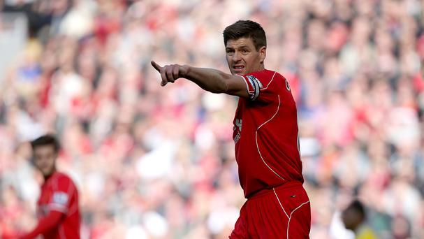 Steven Gerrard will turn out for Liverpool Legends in January