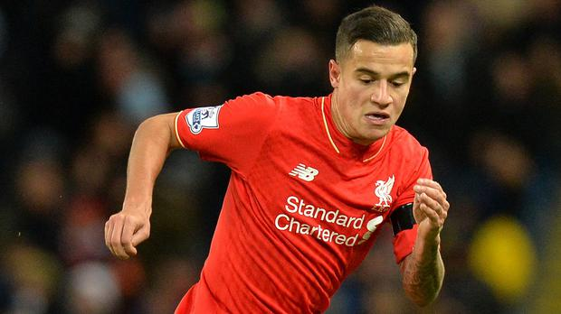 Philippe Coutinho is understood have sustained only a minor hamstring strain.